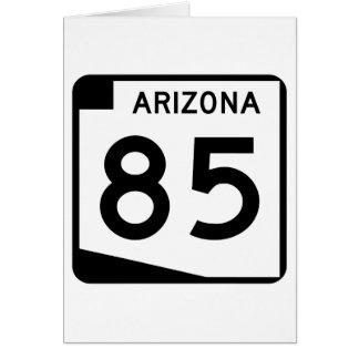 アリゾナの州のルート85 カード
