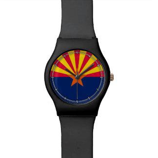 アリゾナの州の旗のデザインの装飾 腕時計