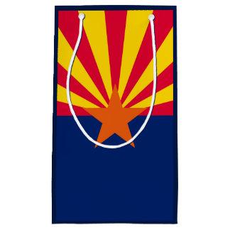 アリゾナの州の旗のデザイン スモールペーパーバッグ