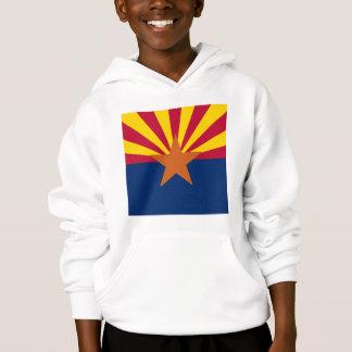 アリゾナの州の旗はフード付きスウェットシャツをからかいます
