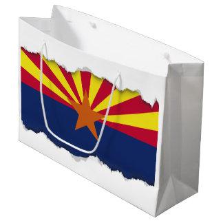 アリゾナの州の旗 ラージペーパーバッグ
