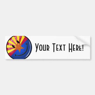 アリゾナの微笑の旗 バンパーステッカー