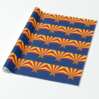 アリゾナの旗が付いている包装紙 ラッピングペーパー