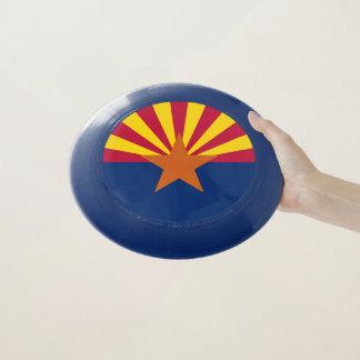 アリゾナの旗が付いている愛国心が強く、特別なフリズビー Wham-Oフリスビー