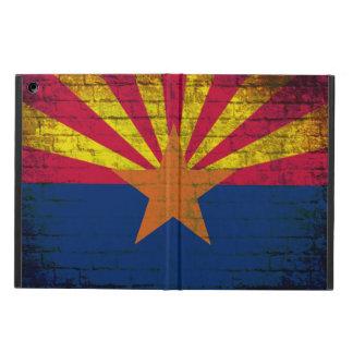 アリゾナの旗のグランジなレンガ壁のipadの空気箱 iPad airケース