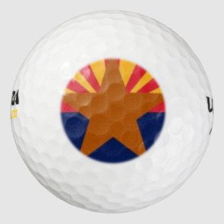 アリゾナの旗 ゴルフボール