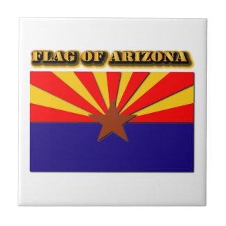 アリゾナの旗 タイル