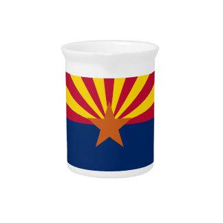 アリゾナの旗 ピッチャー