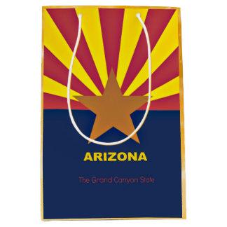 アリゾナの旗 ミディアムペーパーバッグ