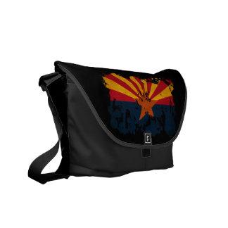 アリゾナの旗 メッセンジャーバッグ