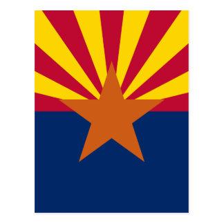 アリゾナの旗 葉書き