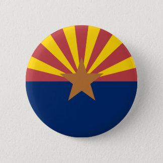 アリゾナの旗 5.7CM 丸型バッジ