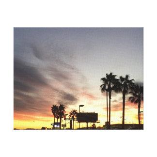 アリゾナの日の出 キャンバスプリント
