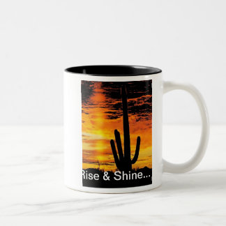 アリゾナの日の出 ツートーンマグカップ