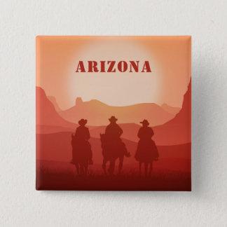 アリゾナの日没のカスタムの磁石 缶バッジ