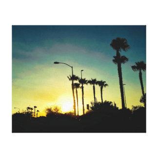 アリゾナの日没 キャンバスプリント