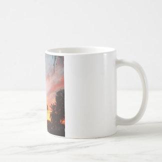 アリゾナの日没 コーヒーマグカップ