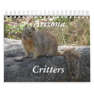 アリゾナの生き物のカレンダー カレンダー