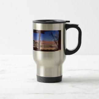 アリゾナの砂漠 トラベルマグ