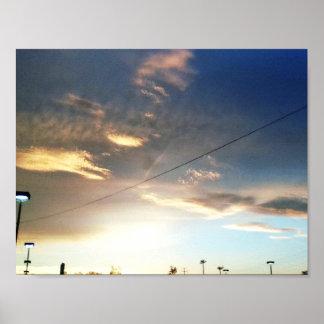 アリゾナの空 プリント