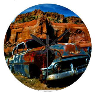 アリゾナの錆 ラージ壁時計