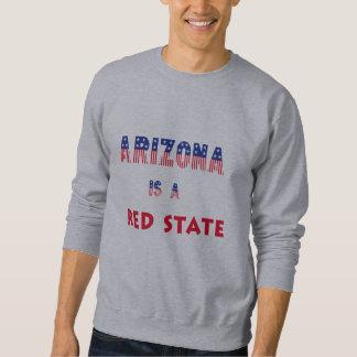 アリゾナは赤い州です スウェットシャツ