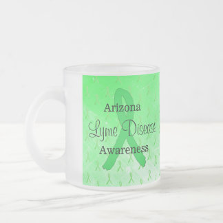 アリゾナライム病の認識度のコーヒーカップ フロストグラスマグカップ