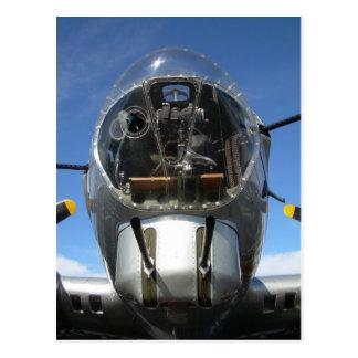 アリゾナ上のB-17爆撃手の座席 ポストカード