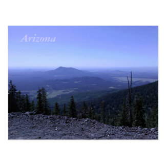 アリゾナ山の郵便はがき ポストカード