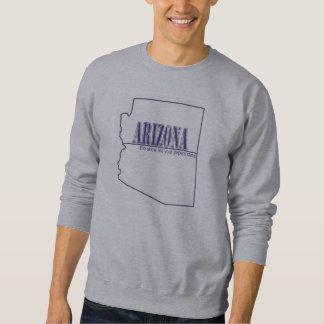 アリゾナ-ショー私あなたの紙の州 スウェットシャツ