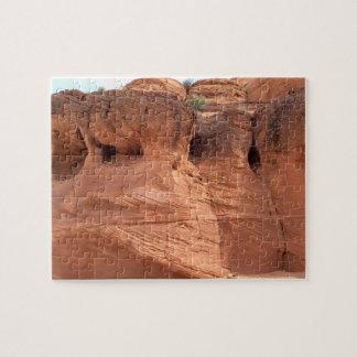 アリゾナ-上部のカモシカ渓谷A -赤い石 ジグソーパズル