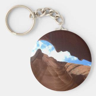 アリゾナ-上部のカモシカ渓谷B -赤い石 キーホルダー