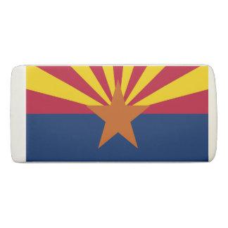 アリゾナ、米国の旗が付いている愛国心が強いくさびの消す物 消しゴム
