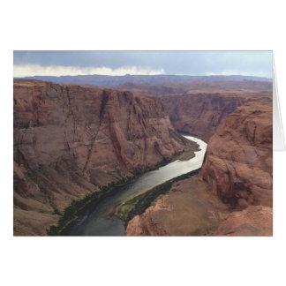 アリゾナ-蹄鉄のくねりA -赤い石 カード
