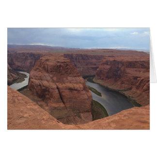 アリゾナ-蹄鉄のくねりAB -赤い石 カード