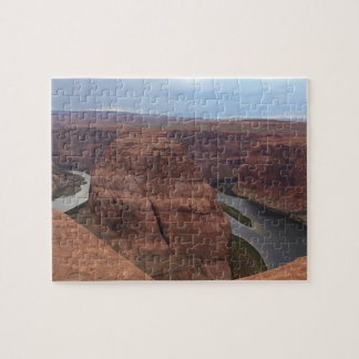 アリゾナ-蹄鉄のくねりAB -赤い石 ジグソーパズル