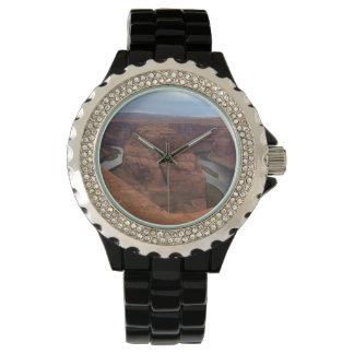 アリゾナ-蹄鉄のくねりAB -赤い石 腕時計