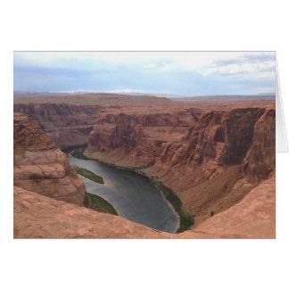 アリゾナ-蹄鉄のくねりB -赤い石 カード