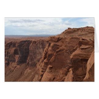 アリゾナ-蹄鉄のくねりC -赤い石 カード