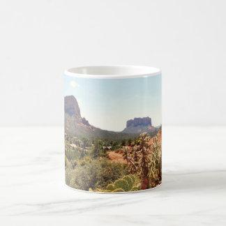 アリゾナTonto山のコーヒーカップ コーヒーマグカップ