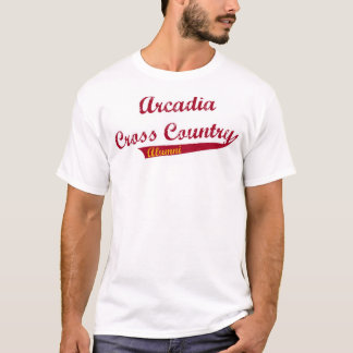アルカディアのクロス・カントリーの卒業生 Tシャツ
