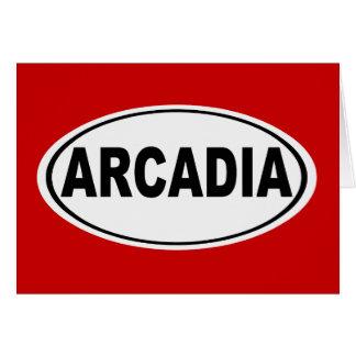 アルカディアカリフォルニア カード