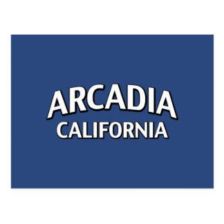アルカディアカリフォルニア ポストカード