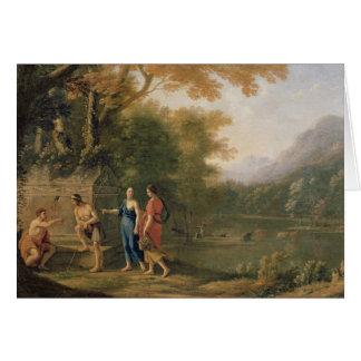 アルカディア人の羊飼い カード