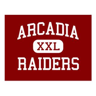 アルカディア-侵入者-高アルカディアウィスコンシン ポストカード