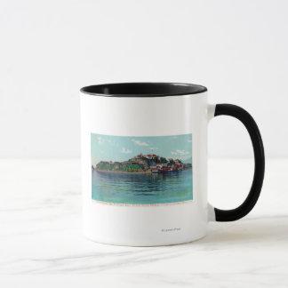 アルカトラズ島および刑務所のBayview マグカップ