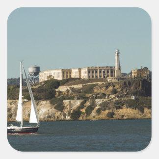 アルカトラズ島および単独ヨット スクエアシール