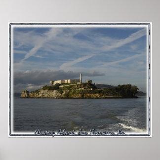 アルカトラズ島の刑務所 ポスター
