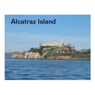 アルカトラズ島 ポストカード