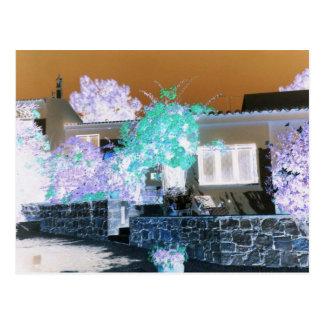 アルガルヴェ地方の別荘のデジタル画像 ポストカード